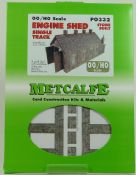 Metcalfe PO332 Single Track Stone Engine Shed